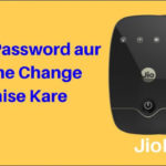 Jiofi Password Change aur Jiofi Name Change Kaise Kare
